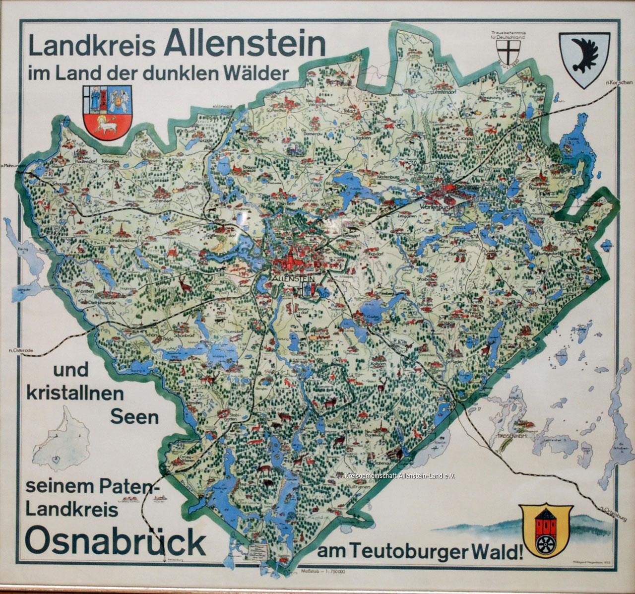 Kreisgemeinschaft Allenstein-Land e. V. – Heimatstube