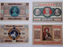 Exponat-Notgeld-Allenstein-um1920