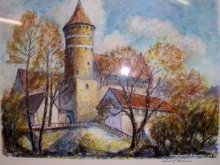 Exponat-Schlosss-Allenstein-von-Rudolf-Koslowski