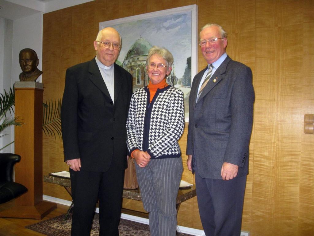 2010 Besuch der Eheleute Monkowski bei Kardinal Sterzinsky