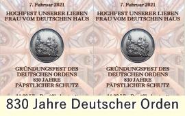 830 Jahre Deutscher Orden