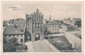 Allenstein - Hohes Tor - Postkarte aus dem Jahr 1916