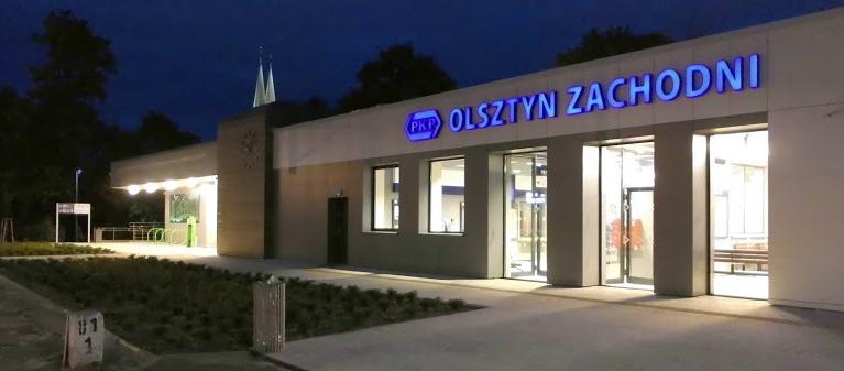 Allenstein hat einen neuen Bahnhof