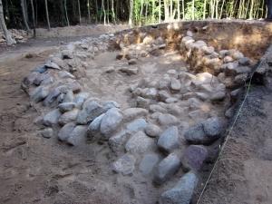 Das Hügelgrab im Wald von Buchwalde 2