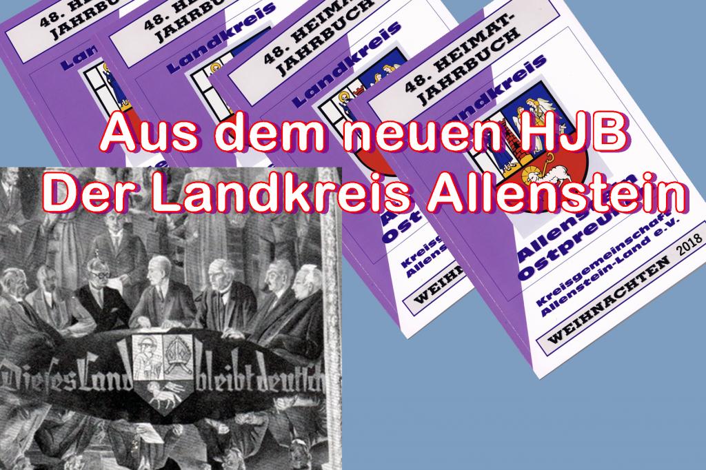 Der Landkreis Allenstein
