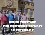 Der neue Vorstand der KG Allenstein