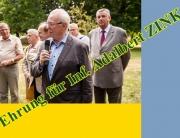 Ehrung für Inf. Adalbert Zink