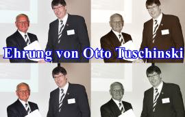 Ehrung für AGDM Otto Tuschinski