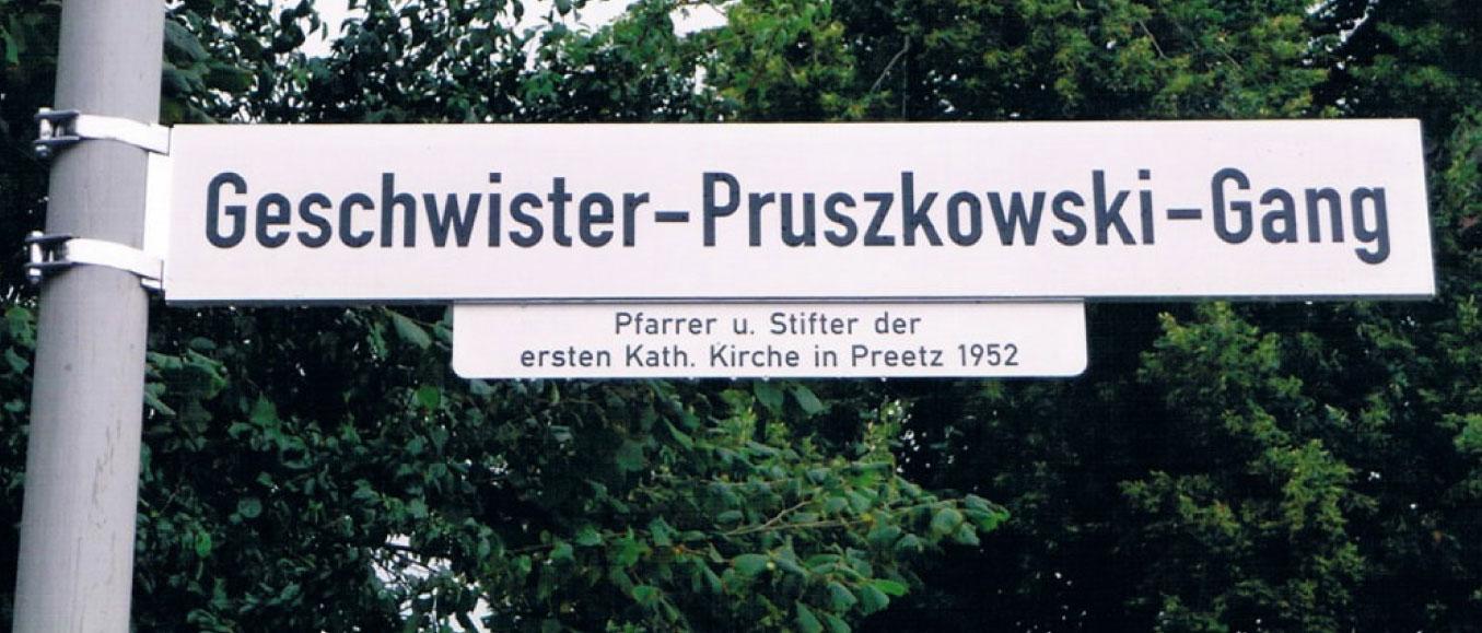 Geschwister-Pruszkowski-Gang in Preetz