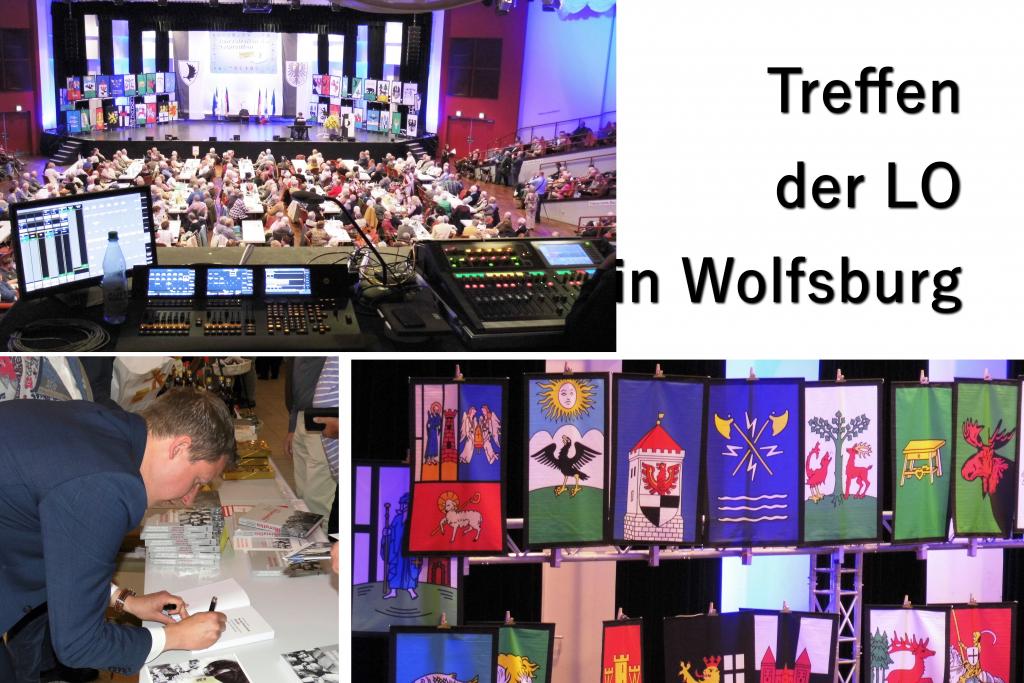 Jahrestreffen der ostpreußen in Wolfsburg