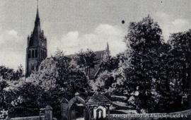 Kirche in Braunswalde um 1940