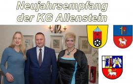 Neujahrsempfang der KG Allenstein 2020