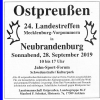 Ostpreußen 24. Landestreffen