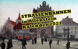 Strassenbahne in Allenstein Allenstein Landkreis